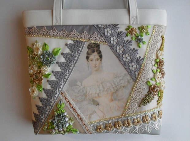 Потрясающие сумки в технике крейзи-квилт Татьяны Шестаковой...