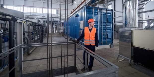 Собянин отметил темпы реконструкции Люберецких очистных сооружений