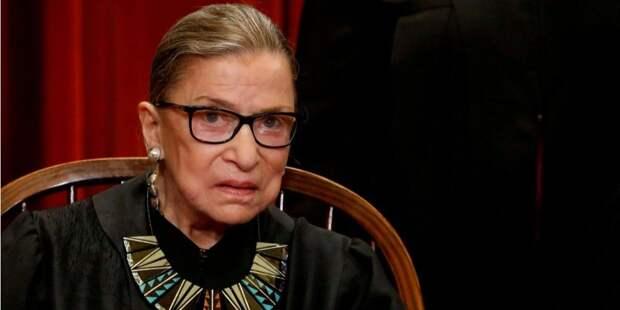 Умерла старейший член Верховного суда США Рут Гинзбург