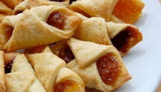 Быстрое печенье «Минутка» с повидлом