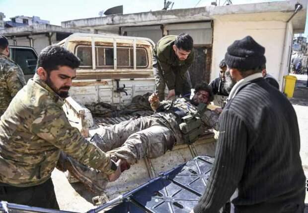 Врезультате атаки боевиков Сирийская армия потеряла свыше 20 солдат