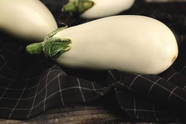 Белый баклажан для любителей экзотики