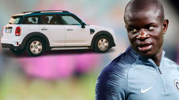 """Канте до сих пор ездит на подержанном Mini Cooper. После победы над """"Реалом"""" фанаты облили его пивом"""