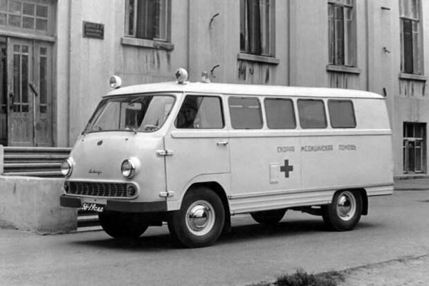 Редкий Советский микроавтобус, который мало кто видел, РАФ 977