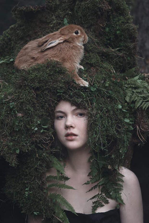 Фотограф Ольга Баранцева. Фотосессии с дикими животными и творческие портреты 6