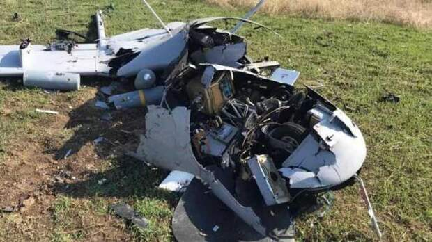 ПВО РФ обнаружили турецкие БПЛА Bayraktar TB2 уграниц в Крыму