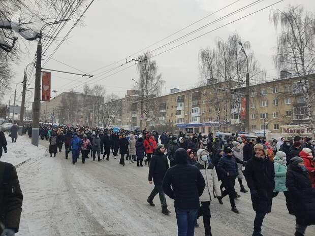 Обязательные работы и арест назначили 6 участникам несанкционированного митинга в Ижевске