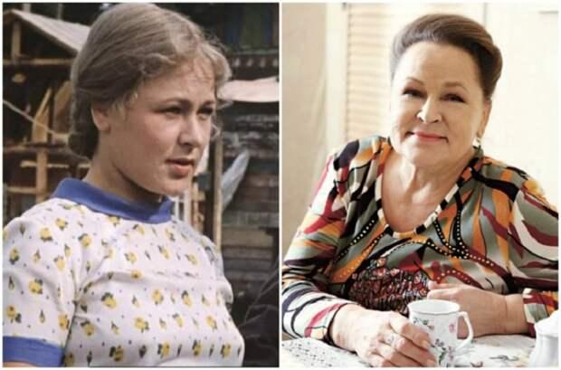 Советская и российская актриса театра и кино, народная артистка России.