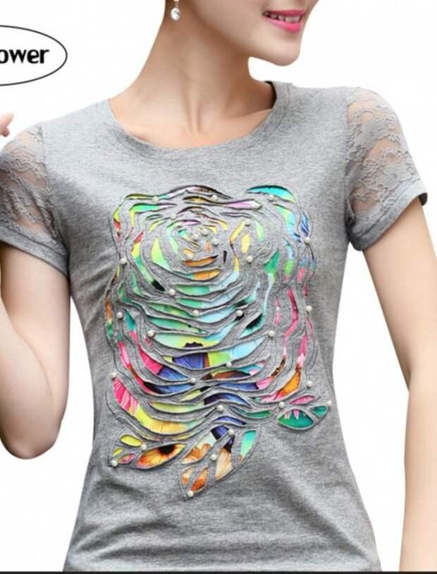 Переделки футболок