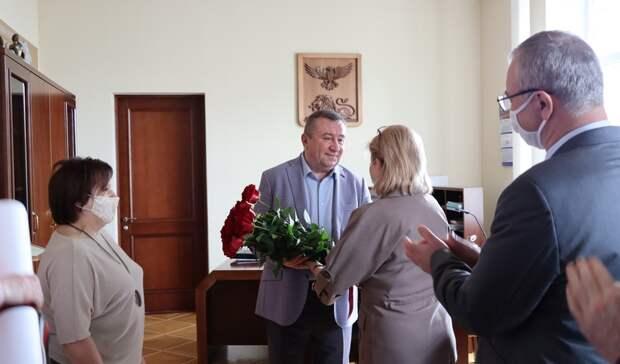 Владимир Боровик отмечает юбилей напосту главы департамента финансов