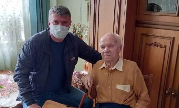 Ветеран ВОВ из Рязани Яков Окунев отметил 97-й день рождения