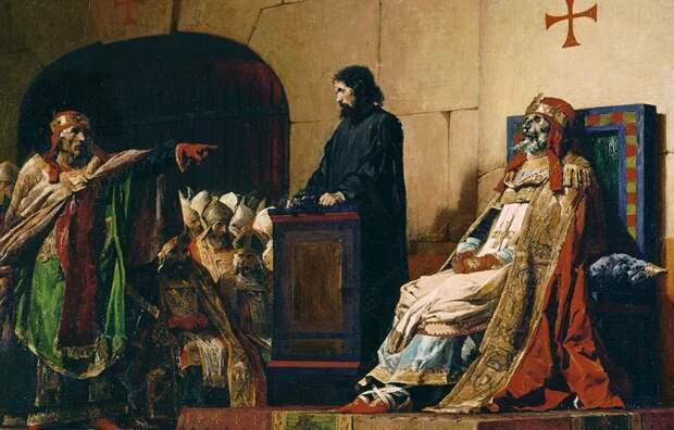 Импичмент Трампа после ухода с поста – ничто. В Риме в 9 веке предали суду труп Папы