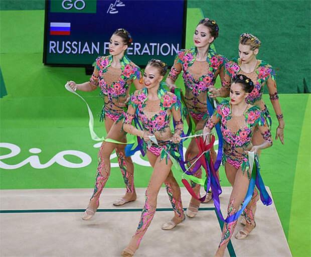 Сборная России по художественной гимнастике – с серебром без видимых ошибок. Винер-Усманова: Было задание судьям остановить нашу гегемонию