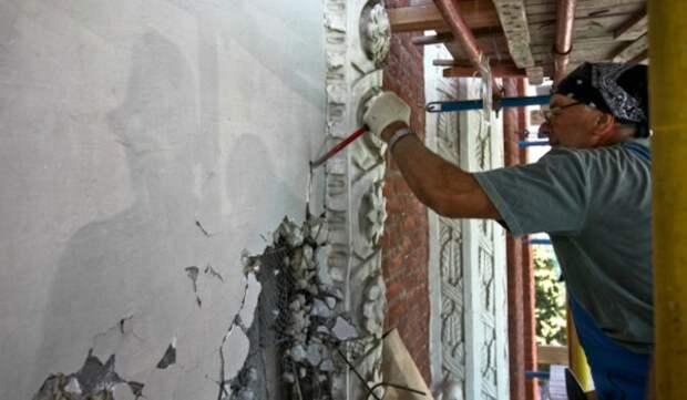 В Хамовниках началась реставрация фасадов дома Палибина