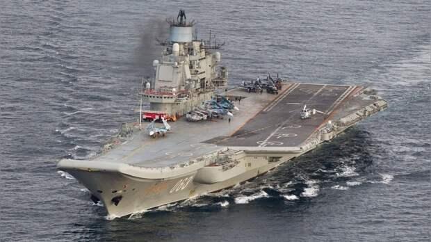 Times: На Западе поставили «неуд» летчикам с «Адмирала Кузнецова»