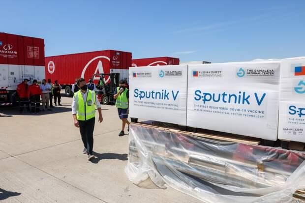 В Аргентине выпустили свыше 5 млн доз российского препарата «Спутник V»
