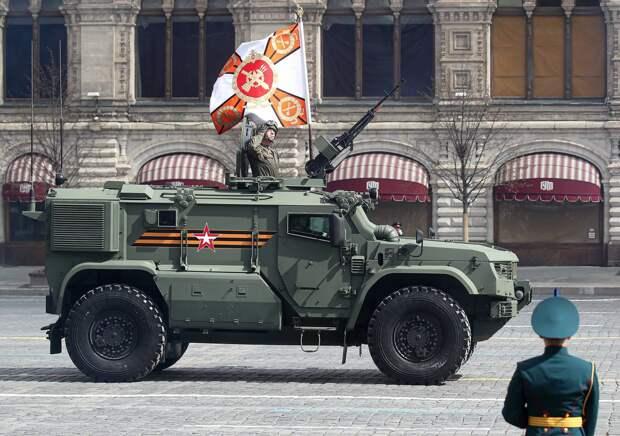 "Бронеавтомобиль ""Тайфун-ПВО"" Валерий Шарифулин/ТАСС"