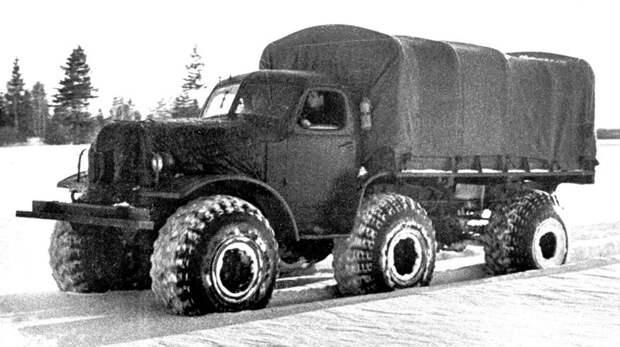 Не прошедшие испытания советские экспериментальные вездеходы ЗИЛ, КрАЗ и НАМИ НАМИ, вездеход, зил, испытания, краз