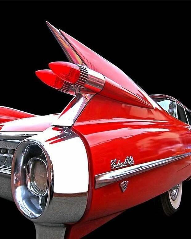 1959 Cadillac Sedan De Ville автомир, интересное, красота, плавниковый стиль, факты