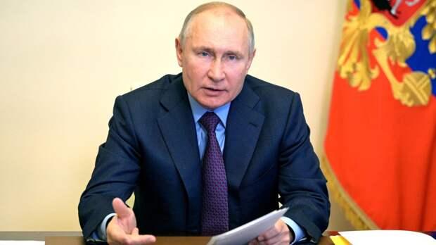 Путин предложил всем странам присоединиться к борьбе с изменением климата