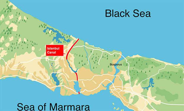 Канал Стамбул. Зачем Турции еще один водный путь к Черному морю