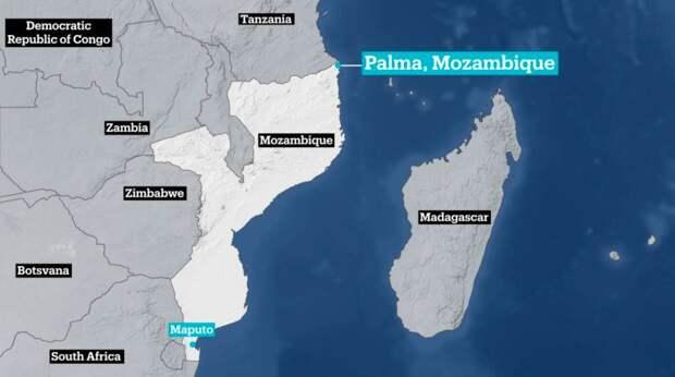 Минобороны Мозамбика эвакуирует население Пальмы