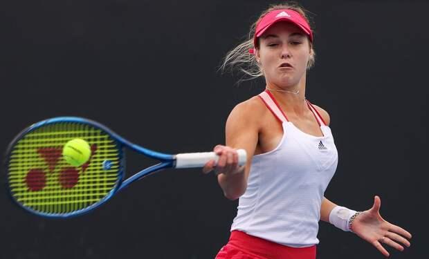 Калинская стартовала с победы на турнире в Белграде