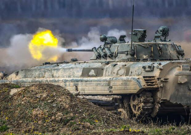 На полигонах в Калининградской области завершился этап боевого слаживания подразделений армейского корпуса