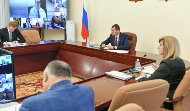 Михаил Дегтярёв на месте проконтролирует оказание помощи пострадавшим от паводка