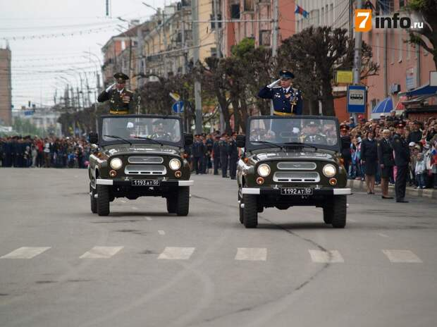 Стала известна программа празднования Дня Победы в Рязани