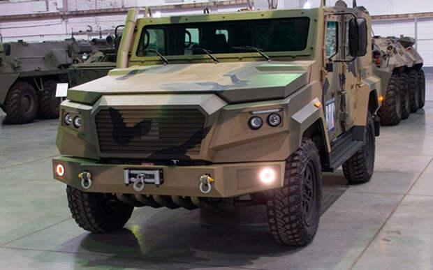 ВПК собирается создать «русский Land Cruiser» на базе броневика «Стрела»