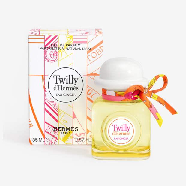 Hermès выпустил новый дерзкий аромат Twilly Eau Ginger