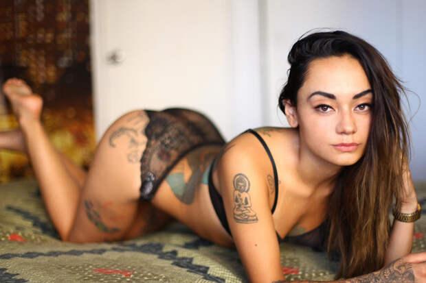 Suicide Girls: интимные снимки татуированных красоток