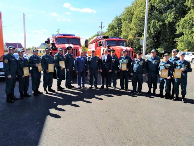В Белгородской области открыто новое  здание пожарно-спасательной части