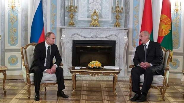 В Кремле состоялись переговоры президентов России и Белоруссии