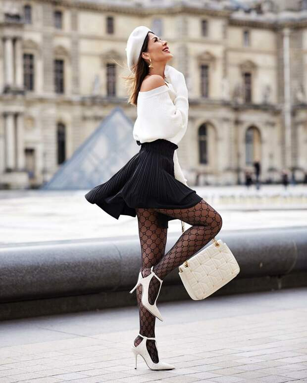 С чем носить высокую юбку: 20 идей, которые сделают вашу фигуру еще стройнее
