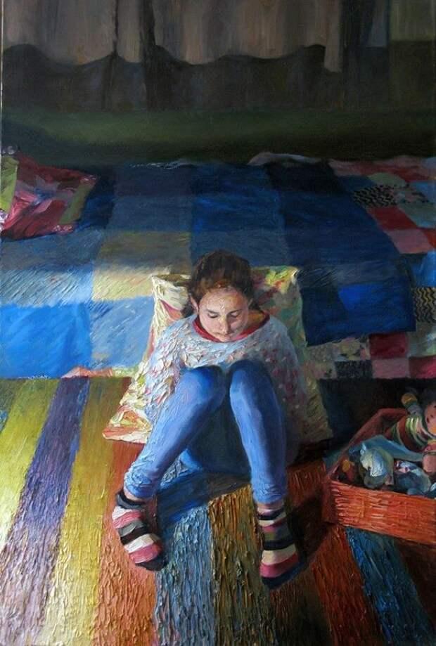 Израильский художник. Misha Lapitskiy