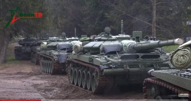 Танки УралВагонЗавода в Белоруссии повергли в панику Польшу