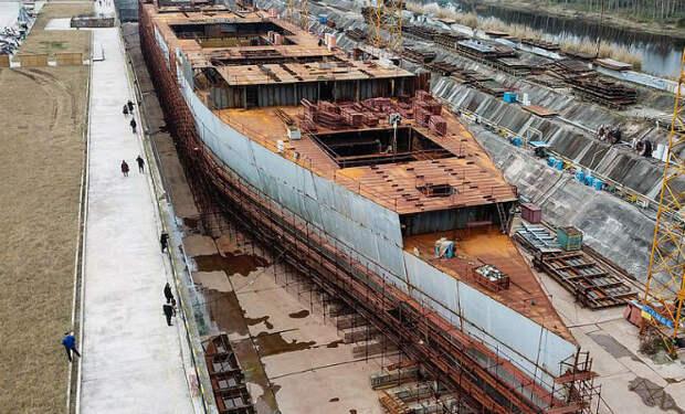 Китайцы строят копию Титаника