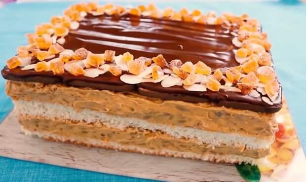 ЛЕГЕНДАРНЫЙ торт «ЯЛТИНСКИЙ ПОДСОЛНУХ»