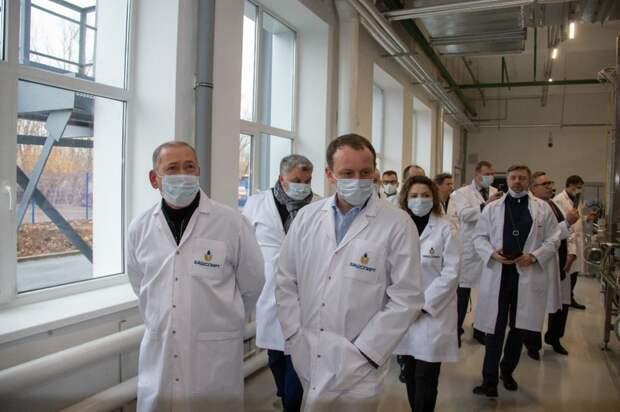 В Уфимском районе появился «завод будущего»