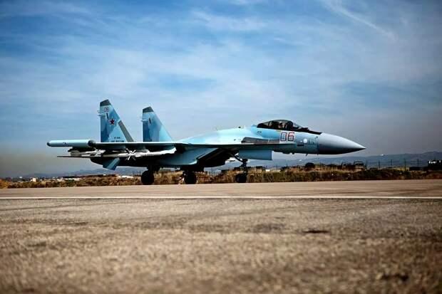 Многоцелевой истребитель Су-35 ВКС РФ. Источник изображения:
