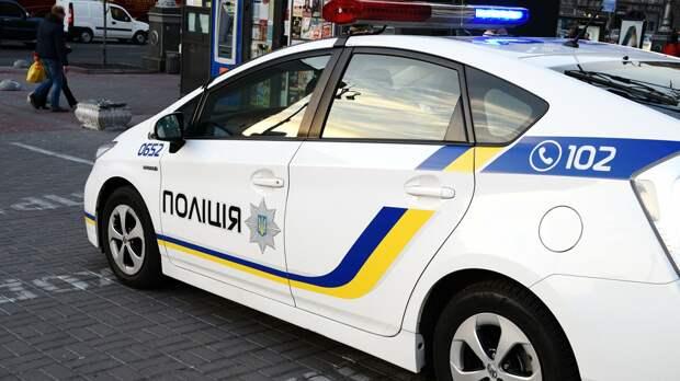Автомобиль украинской полиции в Киеве - РИА Новости, 1920, 30.09.2020