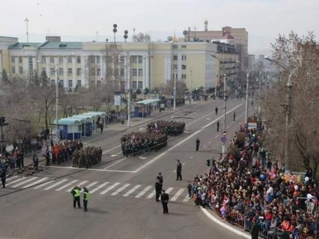 Портал ZAB.RU публикует карты перекрытия улиц 9 мая