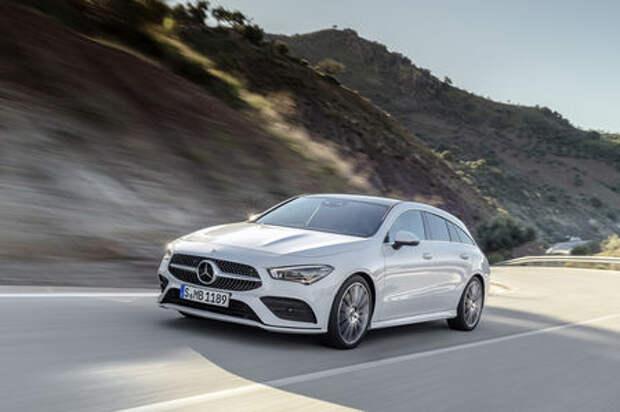 Новый Mercedes-Benz CLA Shooting Brake - все главные изменения