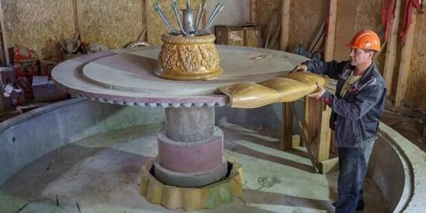 Реконструкция объектов культурного наследия продолжается на ВДНХ