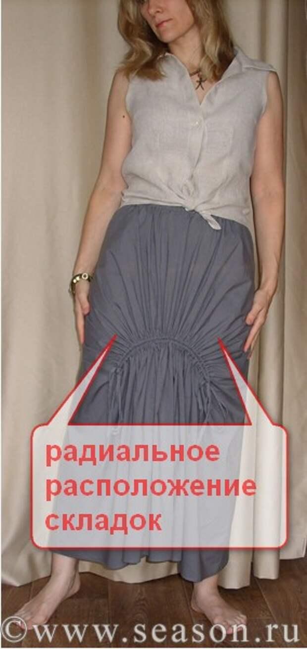 Интересная тайская юбка в стиле бохо со шнуровкой