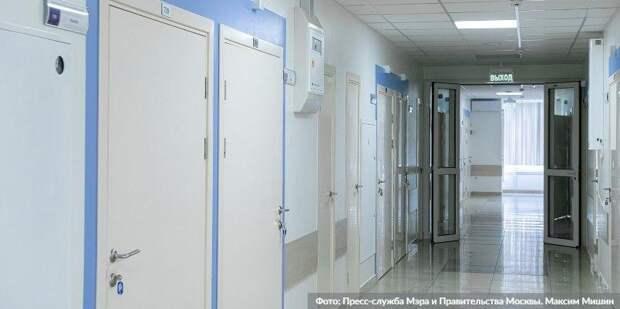 Собянин рассказал о ходе программы реконструкции поликлиник. Фото: М.Мишин, mos.ru