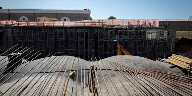 Собянин: Реставрация исторической ГЭС-2 вышла на финишную прямую/mos.ru