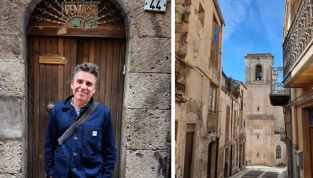 Мужчина купил дом на Сицилии всего за 1 евро и призывает всех последовать его примеру